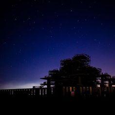 Instagram【tsukemen3932】さんの写真をピンしています。 《#nikon #d7000 #星空 #富津岬 #夜景 #展望台》