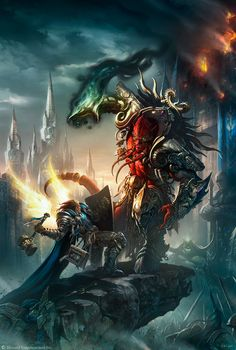 ArtStation - The Art of Warcraft Film - First concept illustration in 2010, Wei Wang