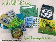 Speech & Language Activities for Book, In the Tall, Tall Grass by Denise Fleming (from The Speech Room News)