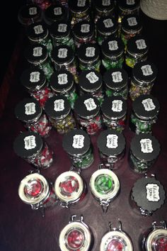 Class of 2017, thank you Candy Jars for guests.