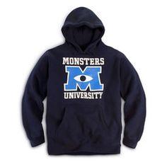 Hoodie Navy | Store | Monsters University