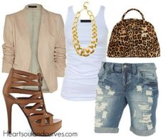 Weekend Style....like the heels but not with this outfit. I'd have to go to my trusty flips-flops or Toms