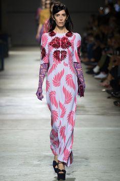 Dries Van Noten Spring 2016 Ready-to-Wear Collection, Fashion, Women's Fashion, Designer, Runway, Paris Fashion Week, PFW Recap, Metallics, h-a-l-e.com