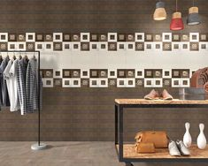 Living Rooms Purpose Wall Tiles by Kajaria Ceramics Limited Decor, Interior Design Living Room, Room Wall Tiles, Tiles, Living Room Wall, Ceramic Wall Tiles, Wall Tiles, Room, Metallic Tiles Kitchen