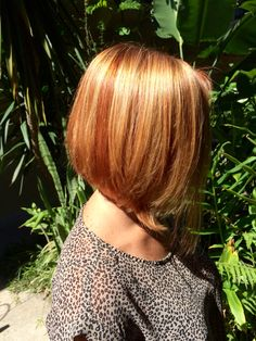 FALL Color and cut by @hairwizb50