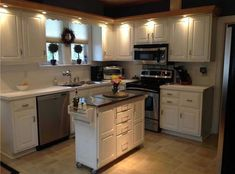 Small Kitchen Remodeling Small rolling kitchen island trolley - In this gallery we share a variety o Country Style Kitchen, Kitchen Design Small, Kitchen Plans, Kitchen Remodel, Kitchen Remodel Small, Moveable Kitchen Island, Kitchen Layout, Modern Kitchen Design, Ikea Kitchen Island