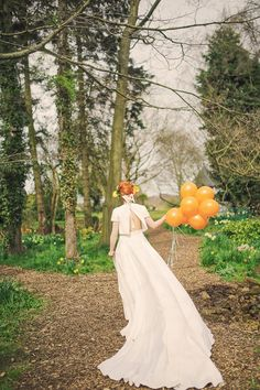 Orange Mexican Cactus Quirky Wedding Ideas http://helenrussellphotography.co.uk/