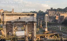 How To Plan a Family Trip to Rome, Italy on a Budget - World Traveling Military Family Countries Around The World, Cool Countries, Around The Worlds, Cologne Bonn Airport, Living In Italy, Rome Travel, Round Trip, Rome Italy