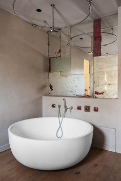 fliesen im bad im mosaik-stil sehen toll aus. ihre hamburger, Hause ideen