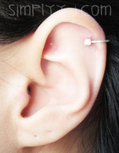Sterling Silver 2.5mm Cubic Zirconia Ear Cuff by SimplicityCharms, $10.00
