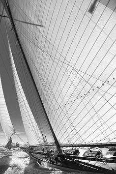 ♂ Boat Ship sail away Classic Sailing, Classic Yachts, Yacht Boat, Sail Away, Wooden Boats, Tall Ships, Water Crafts, Sailing Ships, Sailing Yachts