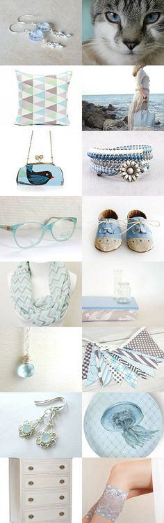 blue eyed cat by Lori on Etsy--Pinned with TreasuryPin.com