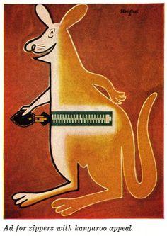 Zipper, Raymond Savignac poster
