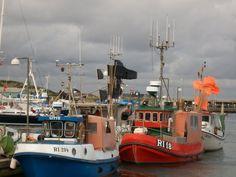 North Sea Fishing Boats- Hvide Sande, Denmark