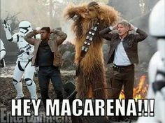 The Star Wars Macarena #StarWars