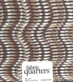 Fabric Quarters Cotton Fabric-- Assorted Brown