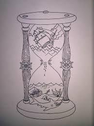 """Résultat de recherche d'images pour """"neo traditional hourglass tattoo"""""""