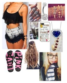 """""""Cute"""" by hannahsocha1331 ❤ liked on Polyvore featuring Victoria's Secret"""
