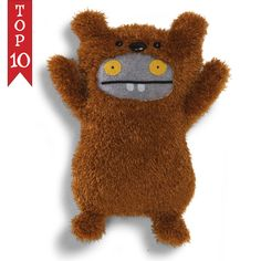 "Gund Uglydoll Uglyverse Babo Bear 11"" Plush #GUND"