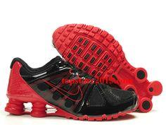 d36d3015969 Mens Nike Shox Turbo Shoes Black Red Sale  42