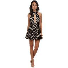 Gabriella Rocha Eva Halter Dress Women's Dress ($69) ❤ liked on Polyvore