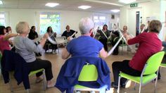 Excellent dance and dementia video, even though she doesn't have an Octaband.