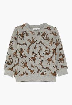 Name it NMMLUIO - Sweatshirt - grey melange - ZALANDO.FR Quoi Porter, Grey Sweatshirt, Names, Sweatshirts, Sweaters, Fashion, Heather Grey, Men Styles, Moda