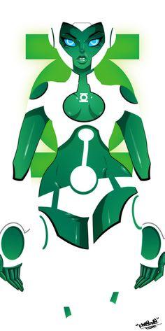 Green Lantern Aya