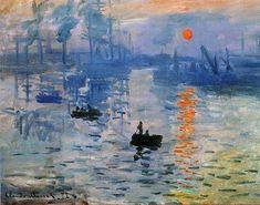 Клод Моне. Впечатление. Восход солнца. 1872.