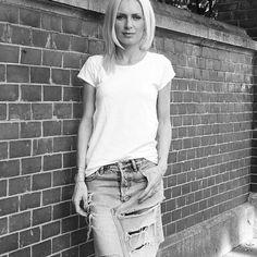 #whitetshirt #lightblue #diy #jeansskirt  #timeless #combination #myoutfit #fashion #goodoldclassic