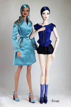 Fashion, Character, Play Dolls Amazing Ooak Chase Modeling Agency Ava Repaint Tonner Closed Repaints Rare Cool In Summer And Warm In Winter