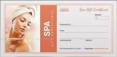 Gift Certificates Samples New Day Spa Gift Certificates Template  Spa Gift Certificate Templates .