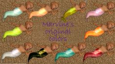 Mod The Sims - MerBabies! In Lots of Colors