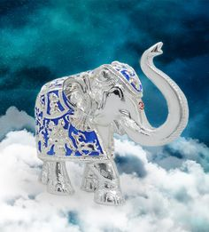 Royal Blue Elephant 6 Inch  A master showpiece in the form of elephant.  http://www.thedivineluxury.com/product/Royal-Blue-Elephant-6-Inch.html