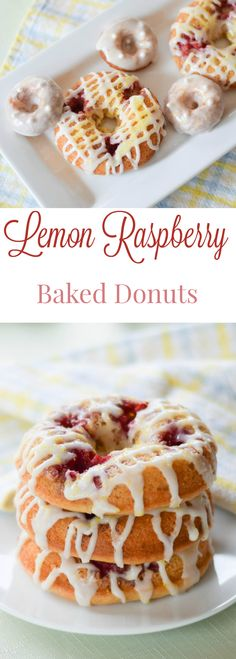 Raspberry Lemon Bake