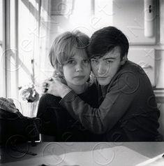 Astrid Kirchherr  and Stuart Sutcliffe (Bassist with John Lennon's early band 1957-1960)