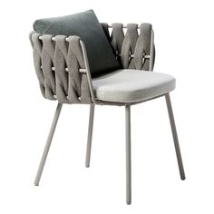 TOSCA ARMCHAIR - JANUS et Cie QTY: 8  Outdoor Dining F-20 Need additional cushion OUTDOOR DINING