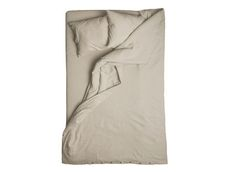 Linen duvet cover Natural grey