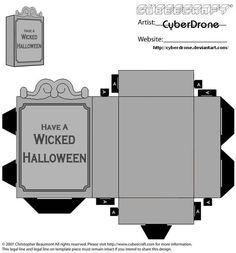 Cubee - Gravestone 2 by CyberDrone.deviantart.com on @deviantART