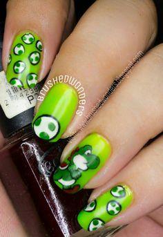 Nailpolis Museum of Nail Art | yoshi  ail art by Kate  #nails #nailart #manicure