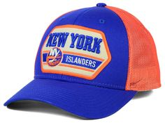 New York Islanders Reebok NHL Patched Trucker Cap With CCM Logo on Back  Adjustable From LIDS · Toronto Maple LeafsNew ... b293a8294424