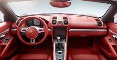 2013 interior: Porsche Boxster S