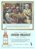 Old Crow Bourbon 1958 Ad Picture