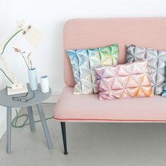 Snurk bedding geometric cushions