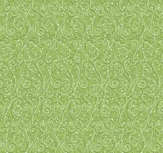 Holiday Cheer 9687-66 Green Swirls by Henry Glass
