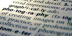 "Deciphering Photo Jargon - Learn to Speak ""Photographer"" - Digital Photography School"