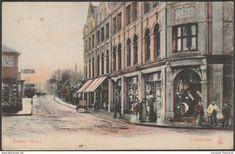 Basset Road, Camborne, Cornwall, 1908 - Milton Artlette Postcard