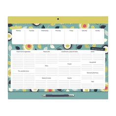 Big Meal Planner Fridge Shop Menu List Magnetic Notepad | eBay