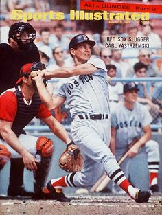 Carl Yastrzemski, Boston Red Sox, YAZ! How much fun it was watching the Red Sox during his time there!  DSD