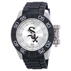Men's MLB Game Time Chicago White Sox Beast Series Watch - Black